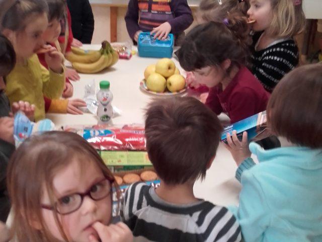 bon goûter pour les enfants sans déchets!