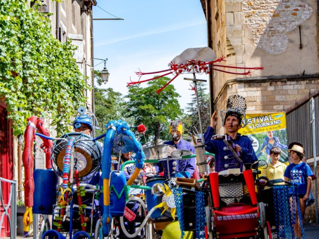 Partenariat avec le Festival de Lournand