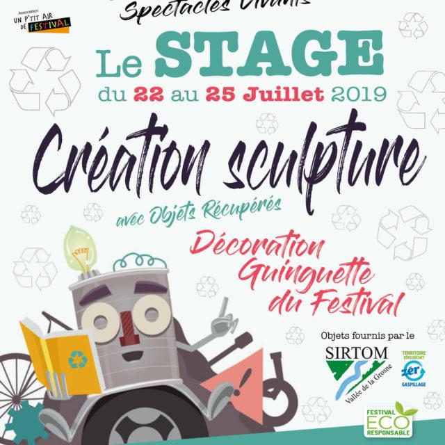 Stage gratuit : décoration récup' du Festival de Lournand
