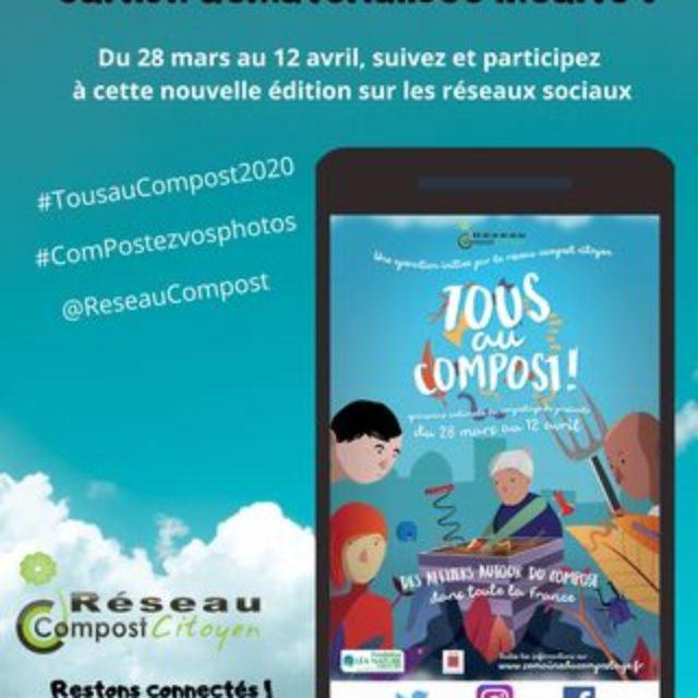 Tous au Compost 2020 : édition dématérialisée inédite !