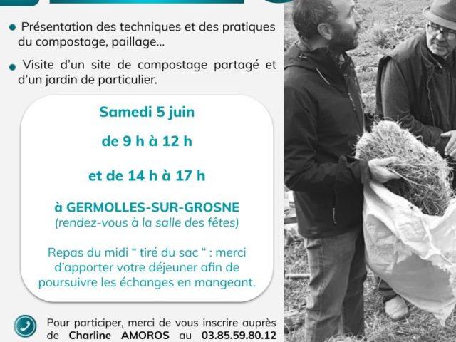 Formation «compostage, paillage et jardinage au naturel» – Samedi 5 juin à Germolles-sur-Grosne
